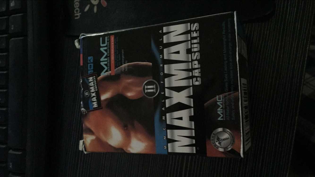 max man capsules