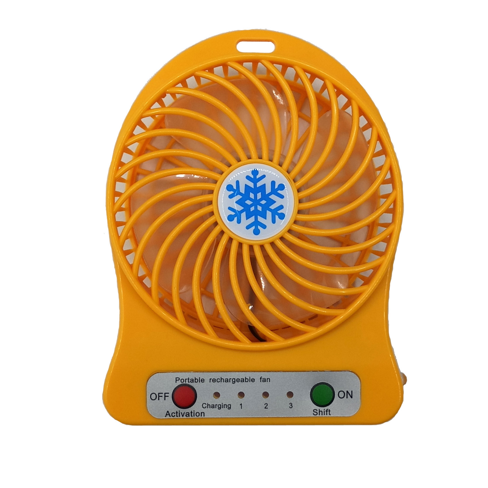 Cool mini desk fan strong wind portable rechargeable USB mini fan