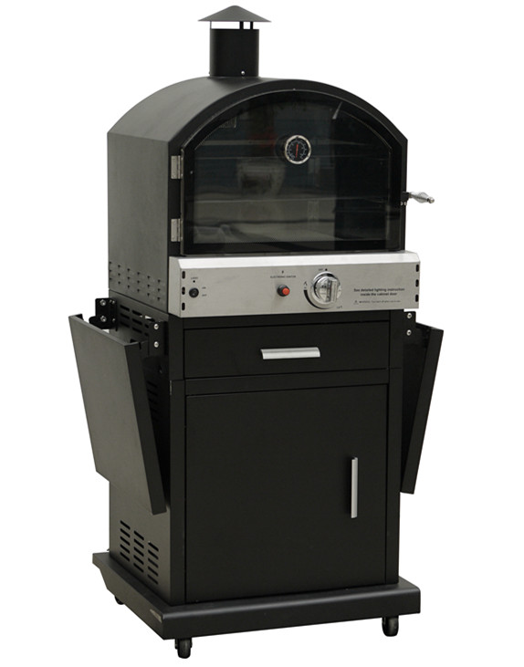 pizza oven gas outdoor/gas smoker grill with factory price
