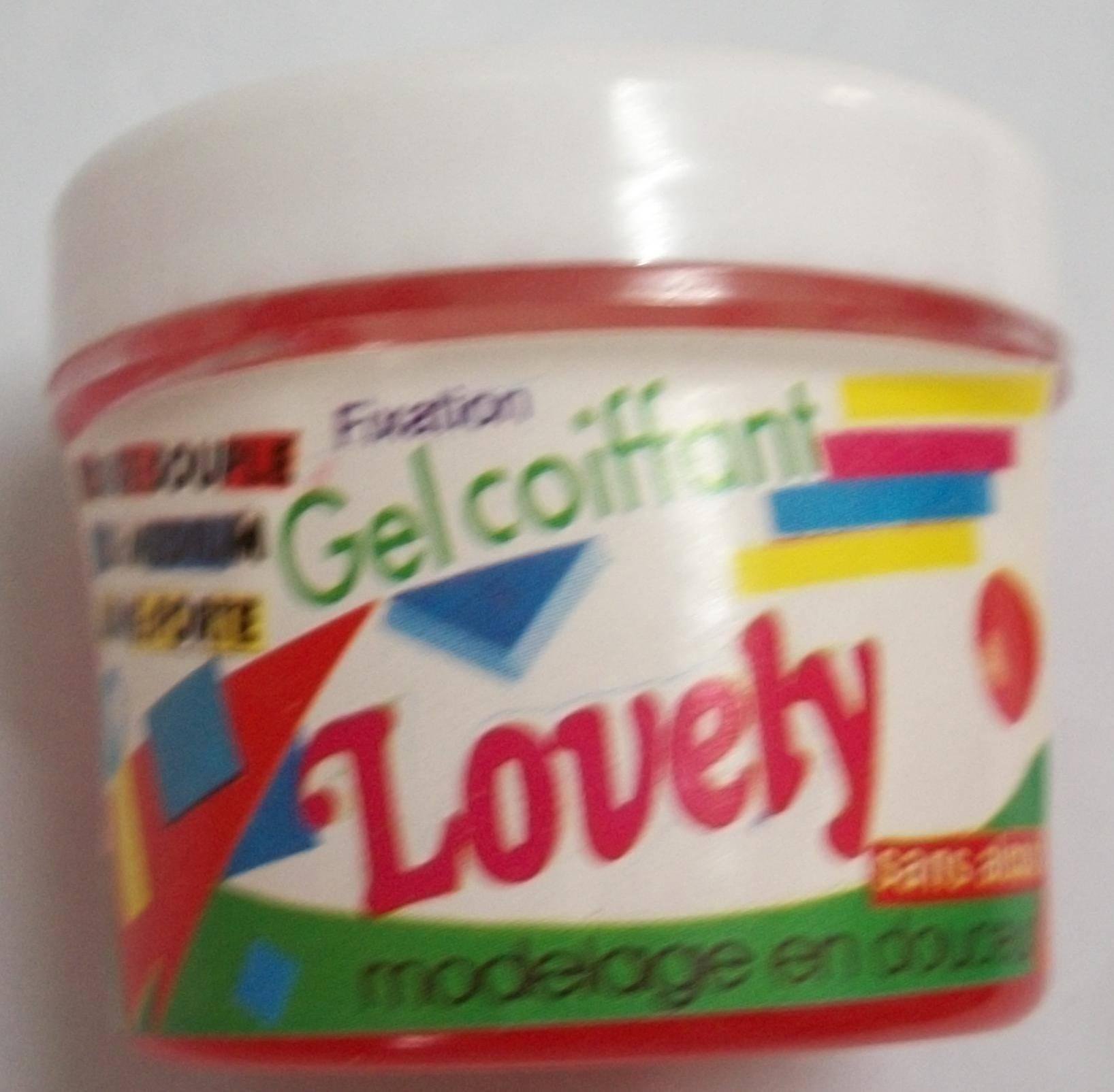 Lovely hair gel