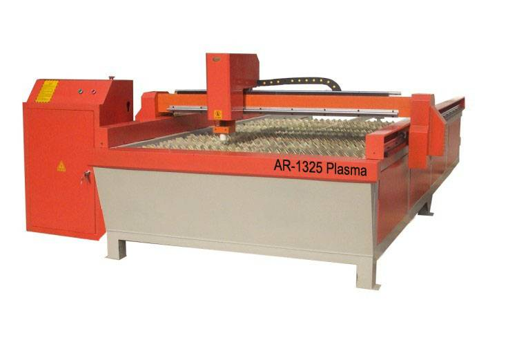 1300*2500mm working dimension CNC Plasma cutting machine for stainless steel