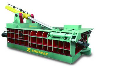 Hydraulic press baler