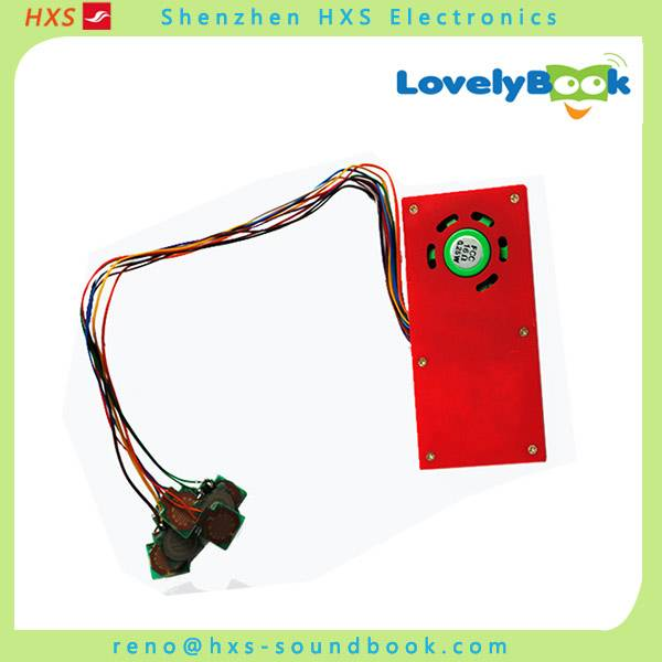 Lovely Music box music module for learning books Manufacture