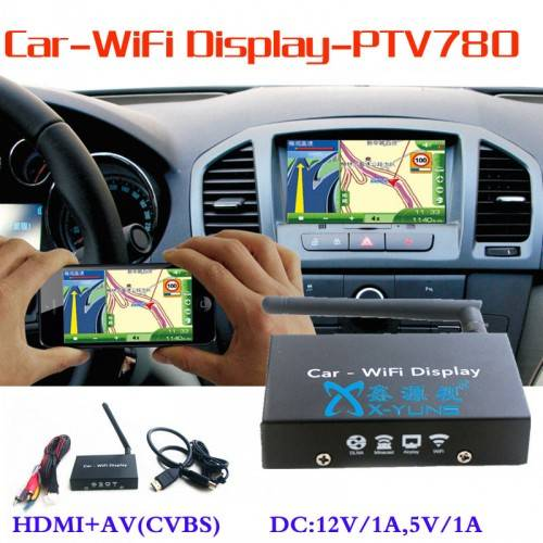 Car Mirror Link Nevigator Android IOS Wifi display HDMI TV Stick
