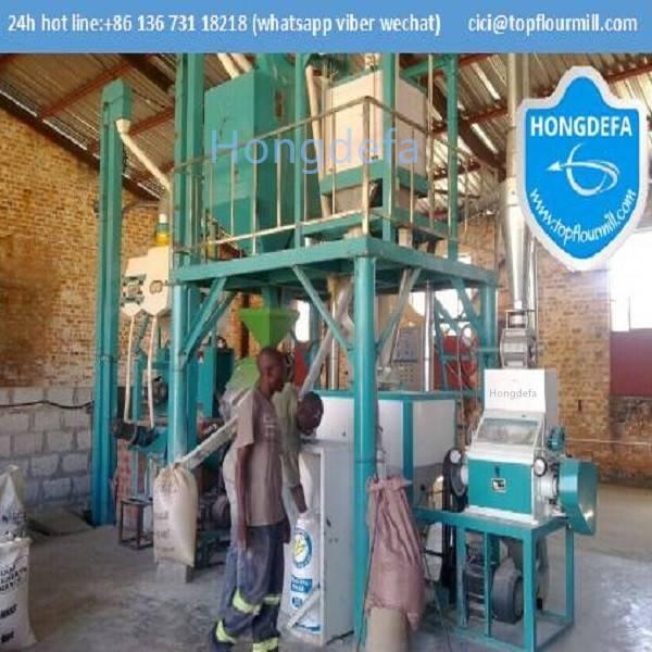 10t maize flour mill Kenya Zambia