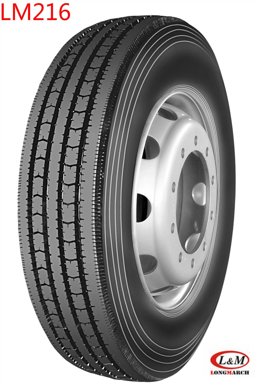 Long March Radial Truck Tire with All Kinds of Certificates (275/80R22.5/LM216)