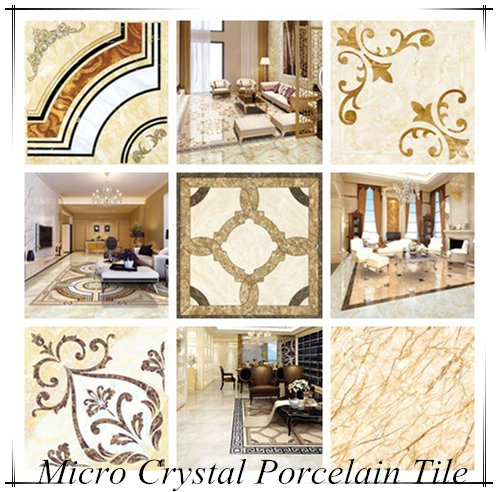Micro Crystal Terrazzo Keramik Glass Porcelain Floor Carpet Tile