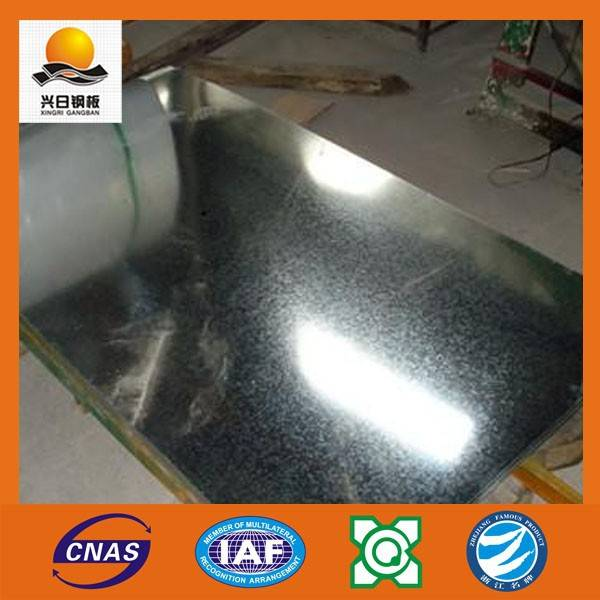 China best supplier galvanized steel coil GI with regular spangles by XINGRI STEEL GROUP