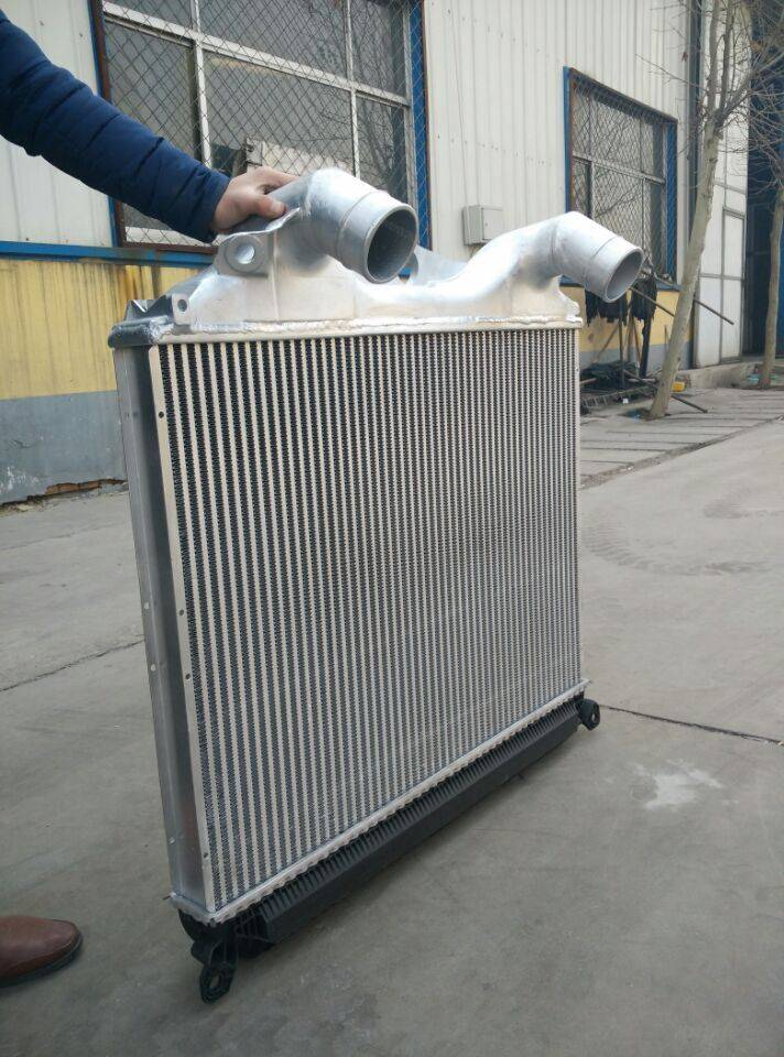 MAN Trucks In The Cold/Intercooler Aluminum Intercooler