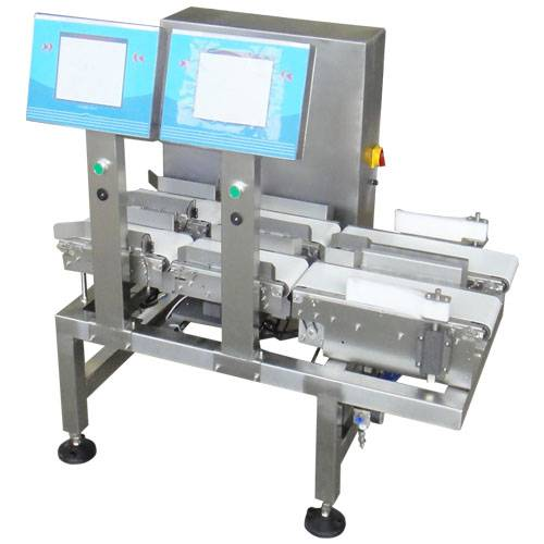 High Accuracy Check Weigher with Double Line (DCH-300DL)
