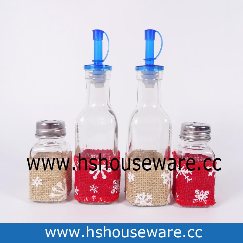 glass O&V bottles