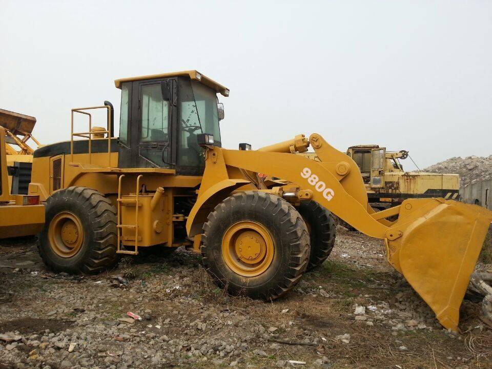 Used caterpillar wheel loaders 980G