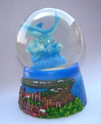 Polyresin Water Globe Resin Water Globe