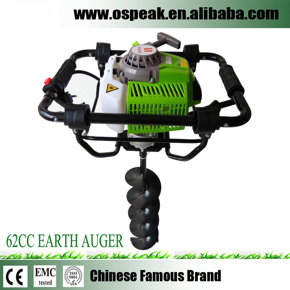 Gasoline Manual Earth Auger Machine