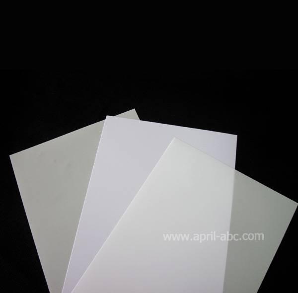 White Instant Pvc Sheet