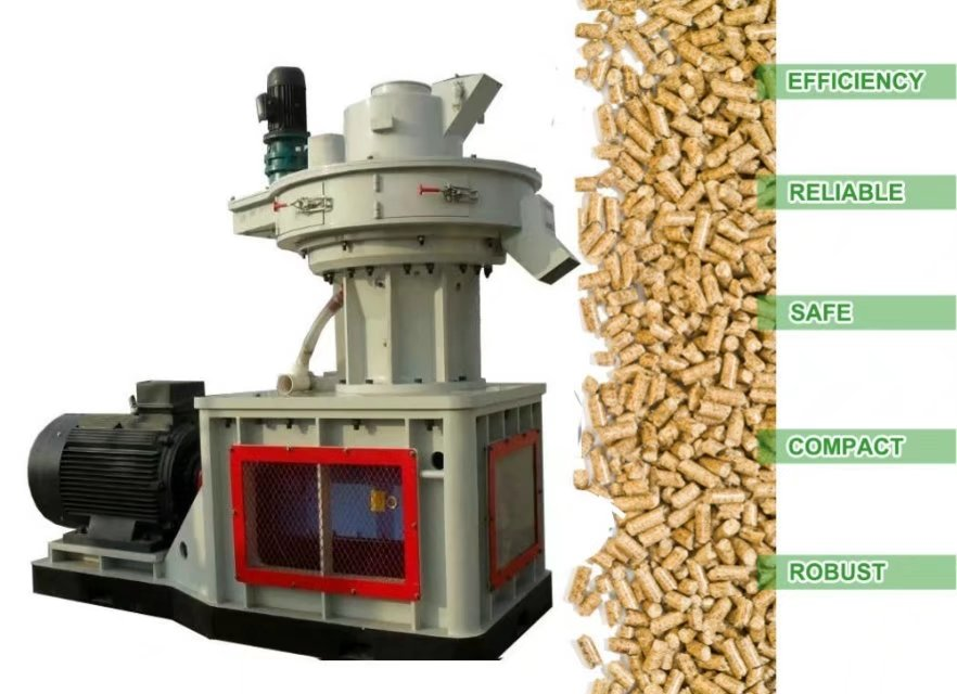 China agricultural waste Sawdust pellet making machine making pellets for heating