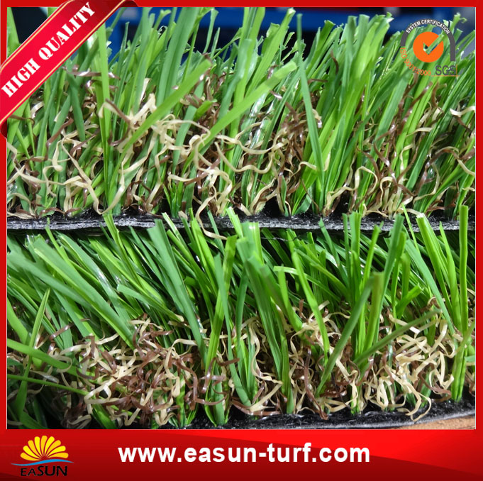 Diamand shape cheap artificial carpet grass garden with SGS-ML