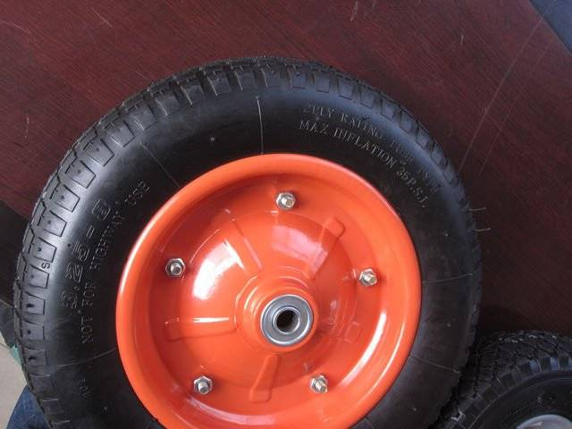 eco-frinedly pneumatic wheelbarrow tire and handtruck tyre 5.00-6