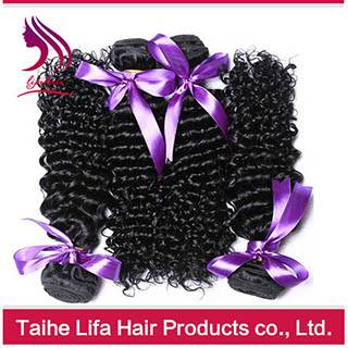 2016 promotion virgin human hair curly hair weaves popular products in usa