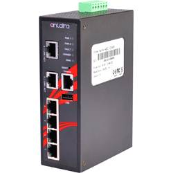 LMX-0600 6-Port Industrial Managed Ethernet Switches w/6*10/100Tx