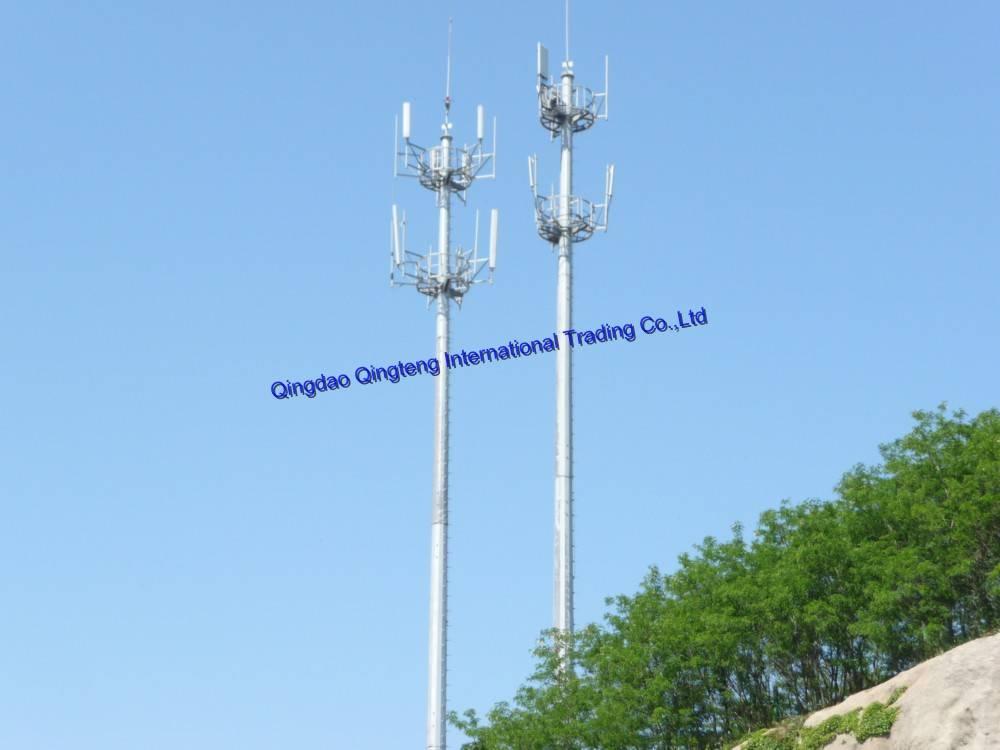 Monopole Tower - Qingdao Qingteng International Trade Co ,Ltd