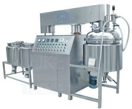 Vacuum Homogenizer Chemical Mixing Machinery Tilting Lifting Blending Machine for Cream