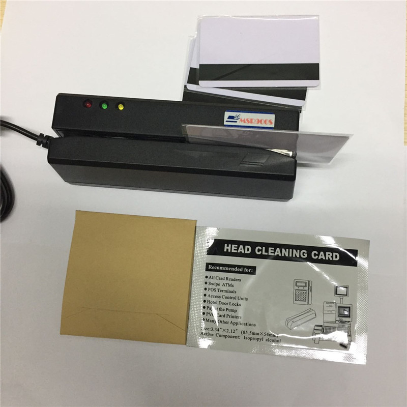 MSR900S USB magnetic card reader and writer, Encoder, compatiable with MSR206
