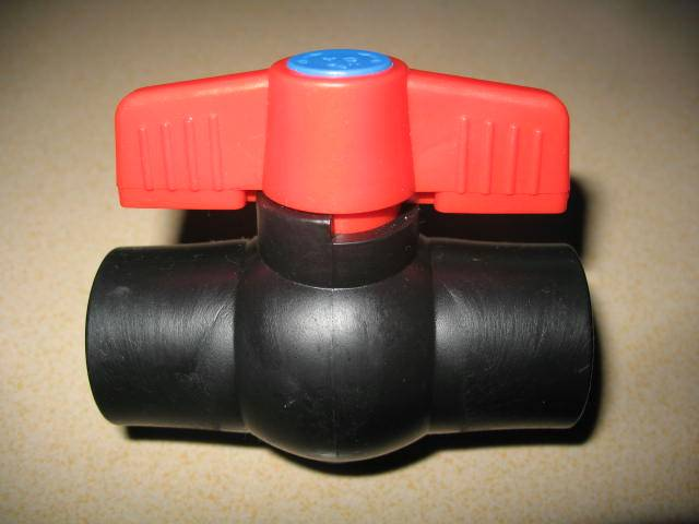 Ball valve for hdpe water pipe hdpe ball valve