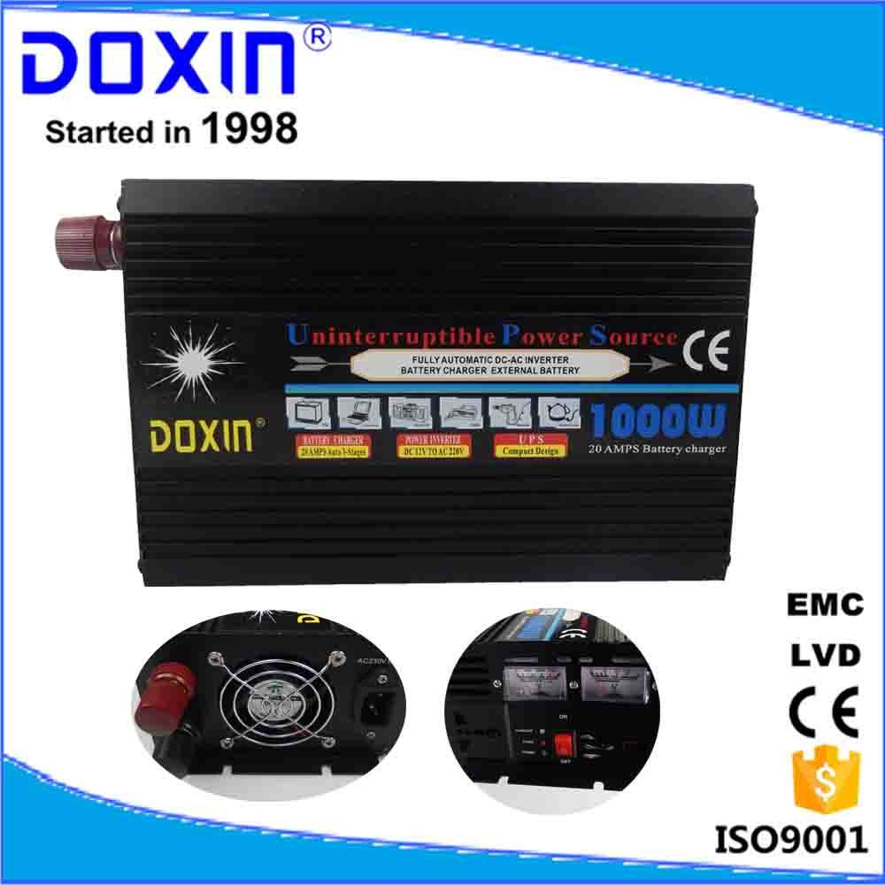 doxin 1000w solar power inverter ups home use dc12 v ac 220v