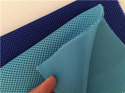 Customized color 100% polyester air mesh fabric