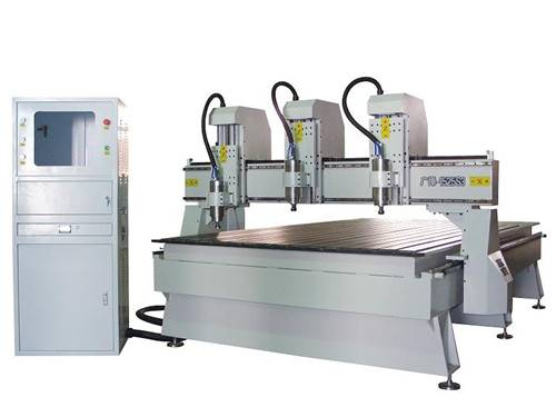 GF-Multi Independent Spindle High Speed  CNC engraving machine