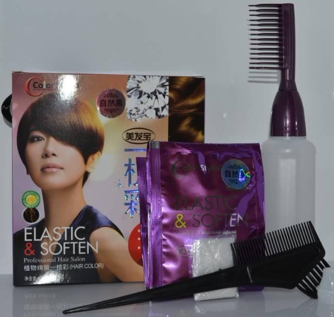 Magic Comb Color Foam Shampoo
