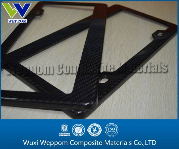 Low Price Carbon Fiber Car License Frame