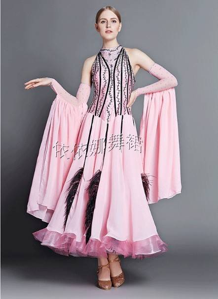 Custom-Made Ballroom Dance Dress For Women Dancewear