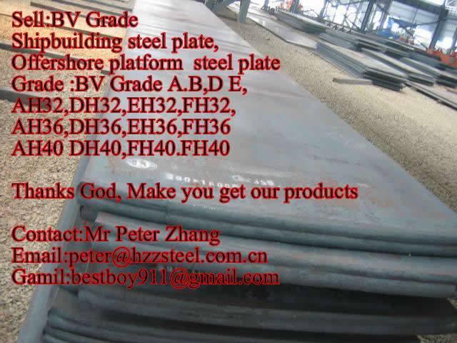 Sell :Shipbuilding steel plate,Grade,BV/A,BV/B,BV/D,BV/E,API 5L 2HGr50 steel plate/sheets/Material/S
