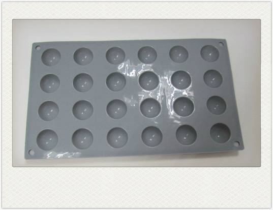 Silicone Candy Dessert Chocolate Cake mold Ice Tray Pan 24 cavities