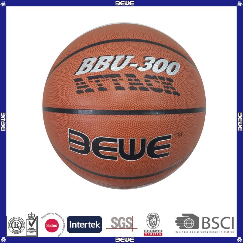 China supplier custom match basketball ball