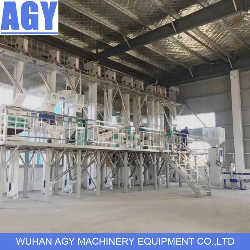 40 t/d rice milling machine