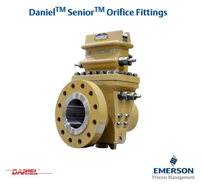 Daniel Senior Orifice Fitting Flangednek