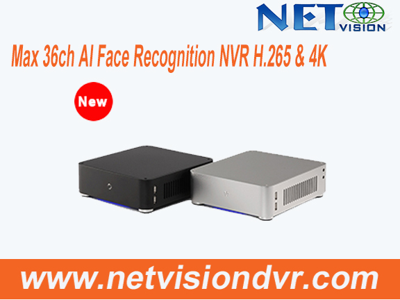 NVSS8101E / NVSS8301E / NVSS8701E--36 channel Face Recognition Network Videl Recorder