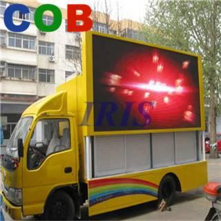 P12 outdoor full color waterproof truck led display