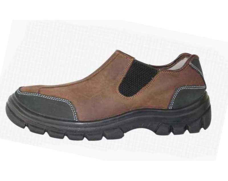 safety work shoes nubuck split leatehr pu outsole