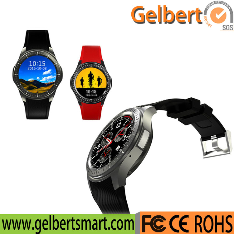 Gelbert Dm368 New Product 3G/WiFi GPS Smart Watch for Smart Phone