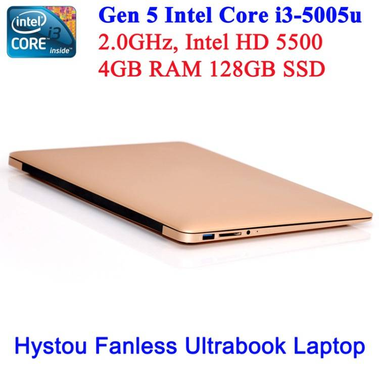 13.3 inch notebook i5 Intel core 5200u HD5500 graphic desktop laptop computer Windows10