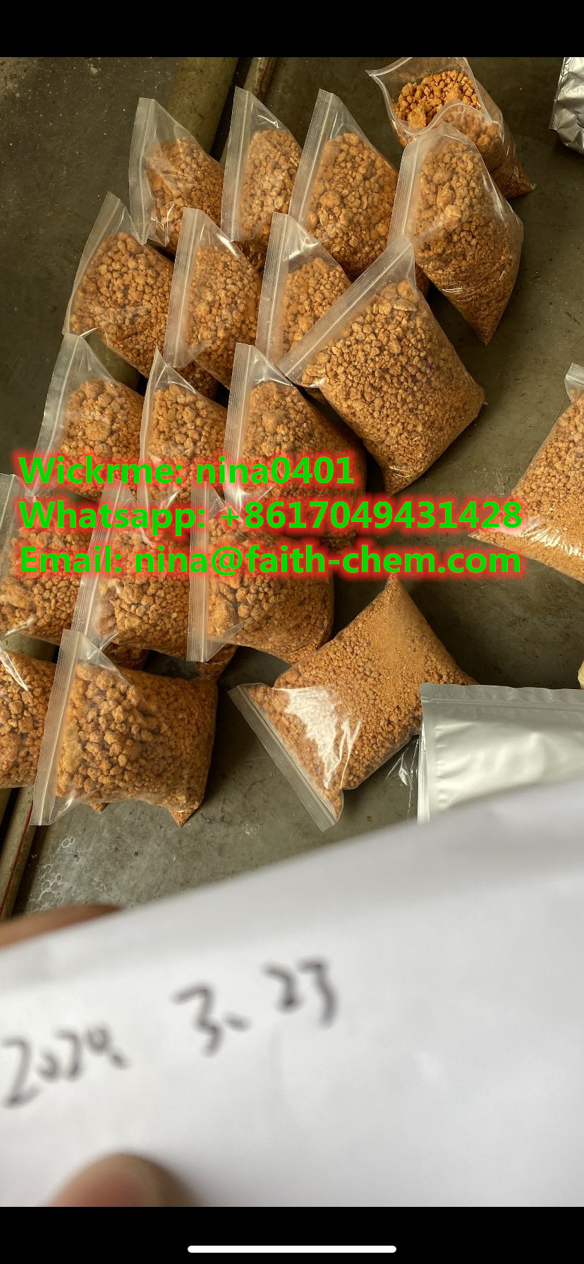 High effect 4FMDMB-BICA for chemical research 4f-mdmb-bica (wickrme: nina0401)