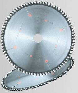 TCT saw blade for cutting non-ferrous matels
