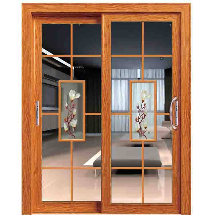 double wrought sliding glass doors for patio