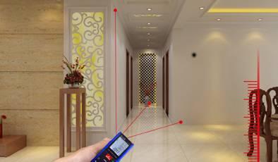 Digital Rectangle laser distance meter & laser rangefinder FL-60
