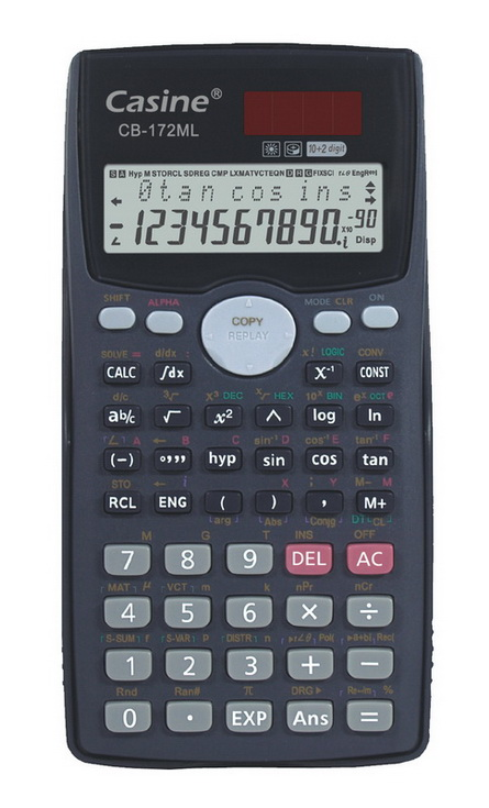 10+2 digits scientific calculator