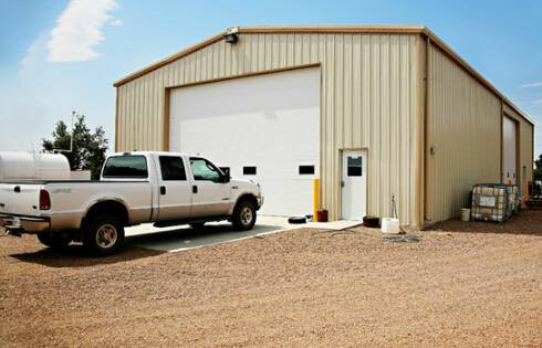 Steel Structure Warehouse Garage